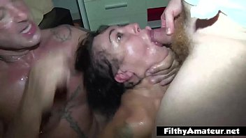 Amateur big tit threesome homemade and