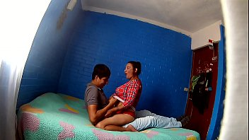 Awesome hot lady films her cock sucking session with her husband