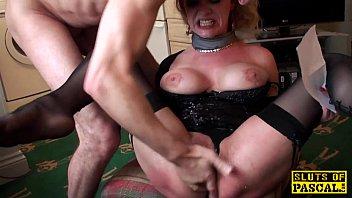 British pornstar Shay Hendrix spanks Loz Lorrimar