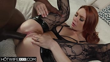 Brunette Power Fucked by Black Cock