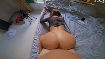 Cougar Amateur Sucking a Fat Cock