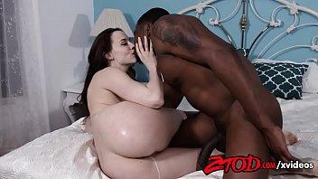 Cute Teen Enjoys a Big Black Cock