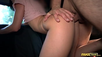 Fake Taxi Sexy ass chick with pierced shaven pussy loves cabbies thick cock