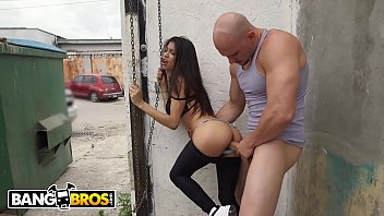 fake tits brazilian babe threesome & interracial hard fucking