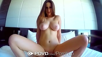 HDPOV Shes on her knees sucking your cock
