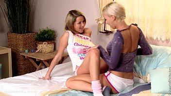 Julia Ann and Lisa Ann mature lesbian scene