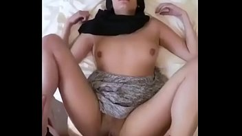 Mixed Arab Girl Shooting her First Anal PORN