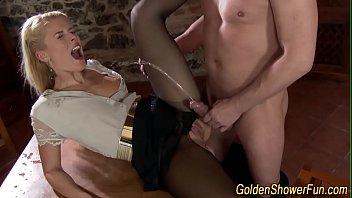 Nia Black stockings footjob and hot sex