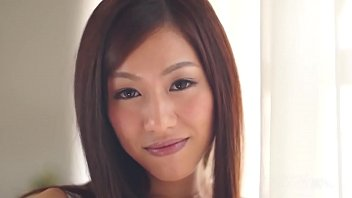 Rika Hayama in mauve lingerie is kissed a lot