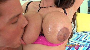 Sexy latina with big natural tits