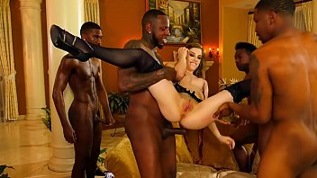 Two couples in hardcore orgy