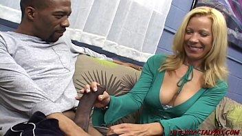 Uncut cock blowjob and big ass mature